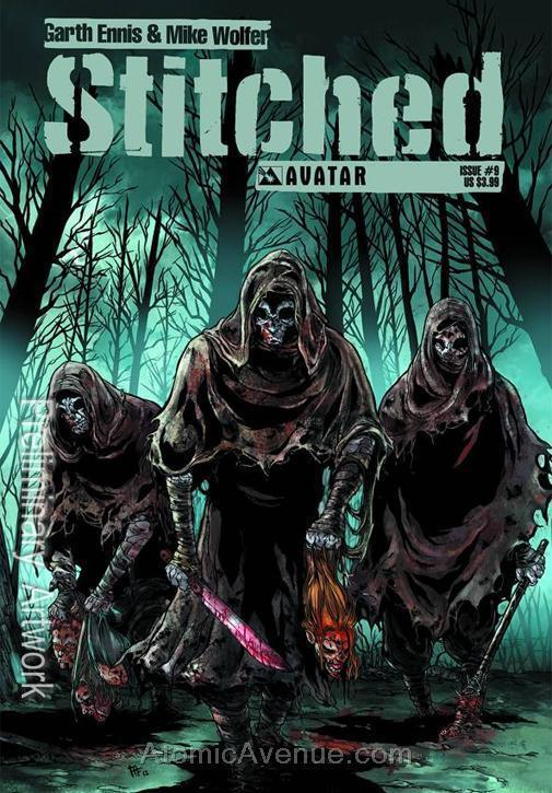 Stitched #9 VF/NM; Avatar | save on shipping - details inside