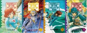 NAUSICAA OF THE VALLEY OF THE WIND PT 2  1-4  MIYAZAKI