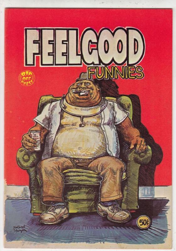 Feel Good Funnies #1 (Jan-72) NM- High-Grade Dr. Feelgood, Frank Crankcase