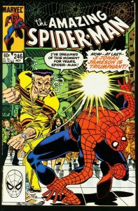 AMAZING SPIDER-MAN #246-1983-MARVEL-very fine VF