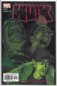 Incredible Hulk (vol. 2, 1999) # 52 VF/NM (Dark Mind, Dark Hearts 3) Deodato