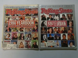 Rolling Stone Magazine Yearbooks 4 different (1986-2007)