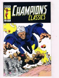 Champions Classics #8 VF/NM Heroic Publishing Comic Book Mar 1987 DE47 AD33