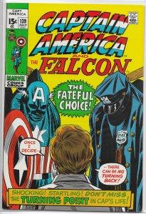 Captain America   vol. 1   #139 FN (and the Falcon) Lee/Romita