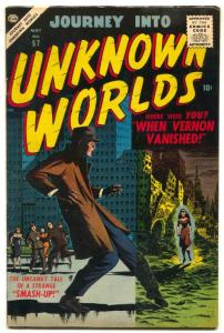 Journey into Unknown Worlds #57 1957- EVERETT COVER- FN+