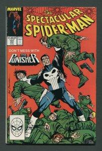 Peter Parker,Spectacular Spiderman #141 / 8.0 VFN  August 1988