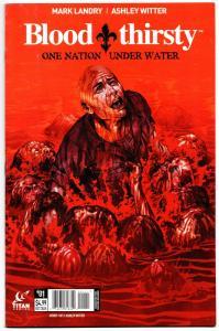 Blood Thirsty #1 (Titan, 2015) FN/VF
