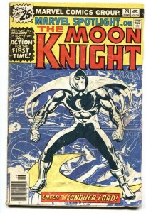 MARVEL SPOTLIGHT #28 1st Solo MOON KNIGHT  -comic book