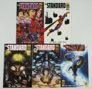 the Standard #1-5 VF/NM complete series - comix tribe super hero set lot 2013
