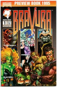 Bravura Preview Book #2 (Malibu, 1994) VF/NM