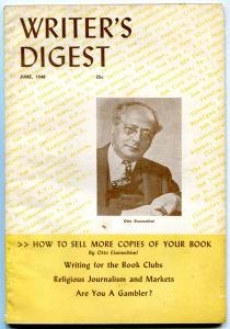 Writer's Digest June 1948-  Otto Eisenschiml- Pulp info VG