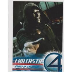 2005 Upper Deck Fantastic Four Movie GRASP OF A MADMAN #76