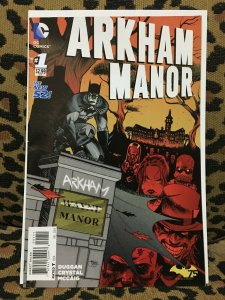 ARKHAM MANOR: THE NEW 52 - DC - COMPLETE SET - #1-6 - 2014-15 VF+