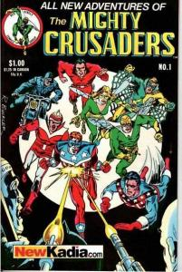 Mighty Crusaders (1983 series) #1, VF+ (Stock photo)
