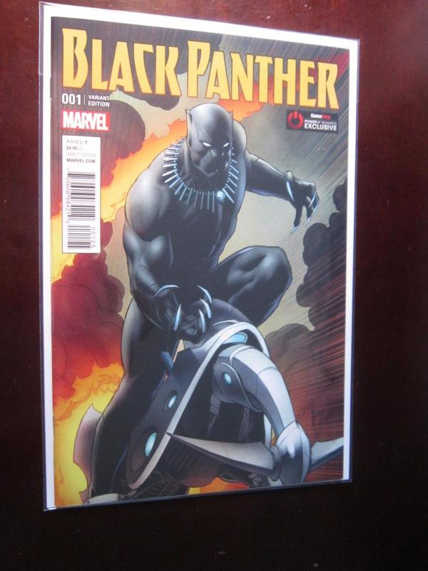 Black Panther (2016) #1 - VF - 2016 - Variant Cover