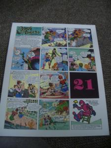 BUCK ROGERS #21-ITALIAN SUNDAY STRIP REPRINTS-CALKINS FN