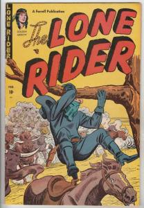 Lone Rider #6 (Feb-52) FN- Mid-Grade Lone Rider