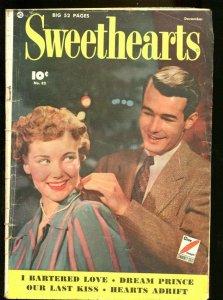 SWEETHEARTS #82 1949-PHOTO COVER-FAWCETT-CAPT MARVEL AD G