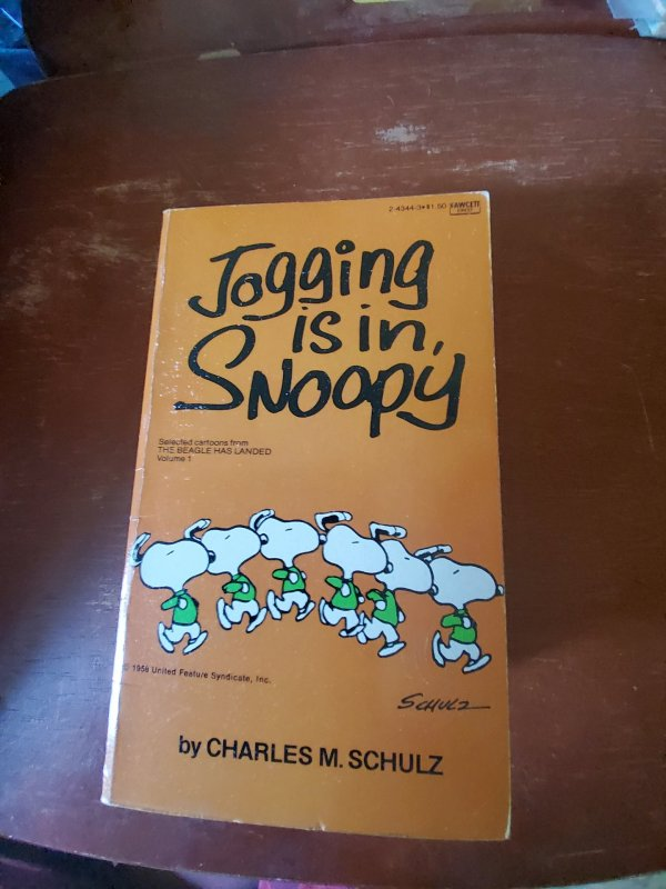 Jogging is in snoopy 1958