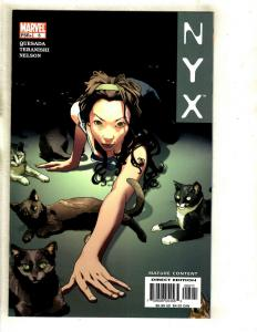 NYX # 5 NM 1st Print Marvel Comic Book X-23 Wolverine X-Men X-Force Cable SM8