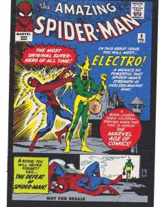 AMAZING SPIDER-MAN #9, VF+, Reprint, Electro, 2006, Peter Parker, Marvel, 19