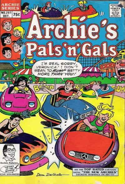 Archie's Pals 'n Gals #201 VF/NM; Archie | save on shipping - details inside