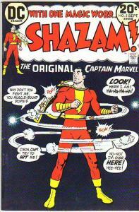 Shazam #5 (Sep-73) FN/VF Mid-High-Grade Captain Marvel