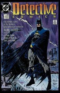 DETECTIVE 600 BATMAN COWAN 1989 5OTH ANN VF/+