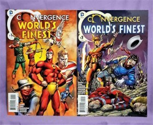 DC Convergence WORLD'S FINEST #1 - 2 Paul Levitz Jim Fern  (DC, 2015)!