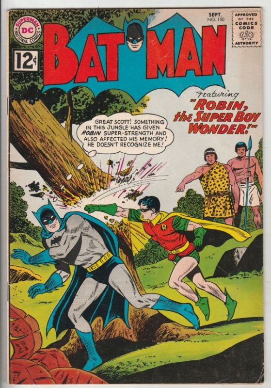 Batman #150 (Sep-62) FN/VF Mid-High-Grade Batman