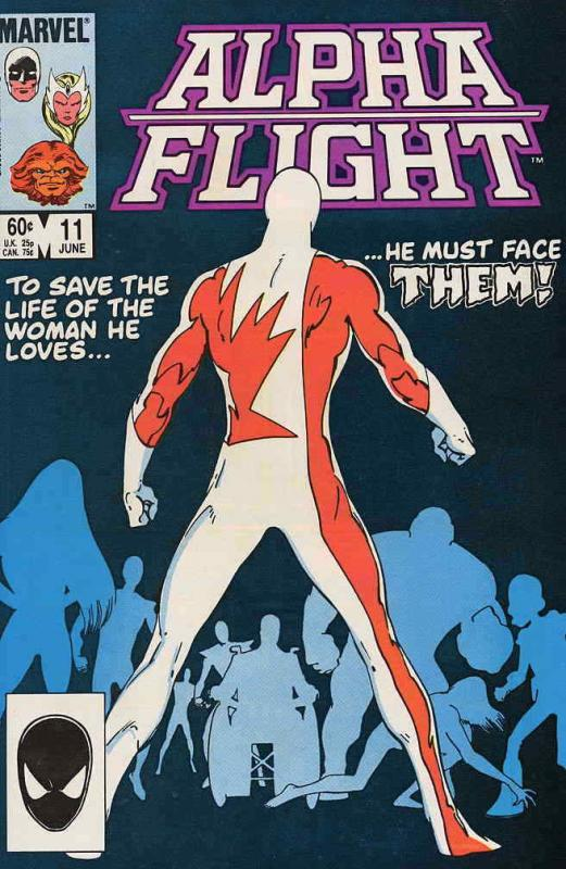 Alpha Flight (1st Series) #11 VF/NM; Marvel | save on shipping - details inside