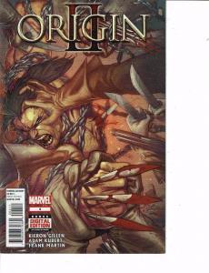 Lot Of 2 Comic Books Marvel Origin II #4 and Nightcrawler #1 ON9