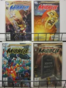 SEVEN SOLDIERS MISTER MIRACLE 1-4 Grant Morrison