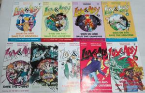 LUX & ALBY (1993 ACME) 1-9 BEAUTIFUL, uncircTHE SET!