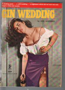 Intimate Novels #8 1951-Gin Wedding-Ann Lawrence-spicy photo cover-VG