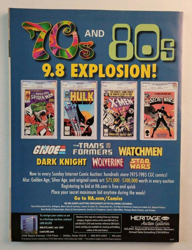 Comics Buyers Guide #1653 May 2009 Magazine Peter David Art Baltazar Marvel NoML
