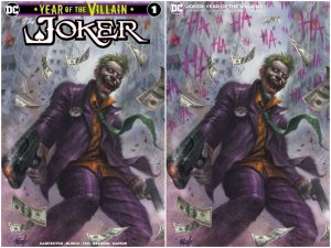 JOKER 1 LUCIO PARRILLO VARIANT SET EXCLUSIVE LTD 600 W/ NUMBERED COA MOVIE