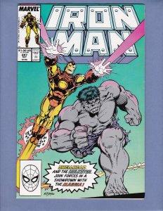 Iron Man #247 VF/NM Incredible Hulk Marvel 1989