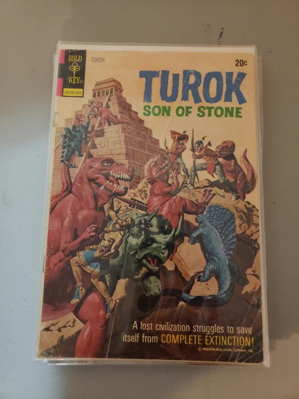 Turok Son of Stone #84 VG-