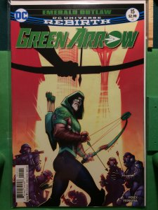 Green Arrow #15 DC Universe Rebirth