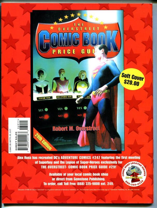 Comic Book Marketplace #69 1999-Gemstone-Justice Society of America-VF