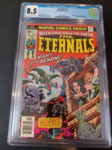 ​ETERNALS #4 CGC 8.5 2ND APPEARANCE OF SERSI