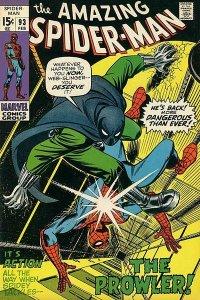 Amazing Spider-Man #93 (ungraded) stock photo ID# B-10