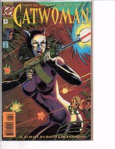 DC Comics (1993) Catwoman #4 Jim Balent Art Bane Batman