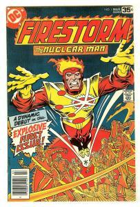Firestrom 1   Origin & 1st Firestorm