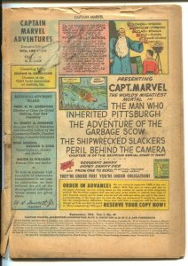 Captain Marvel Adventures #39 1944-Fawcett-Mr Mind-Monster Society Of Evil se...