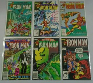 Iron Man #175 - 197 (12 DIFF) - AVG 8.0 VF - 1983 - 1985