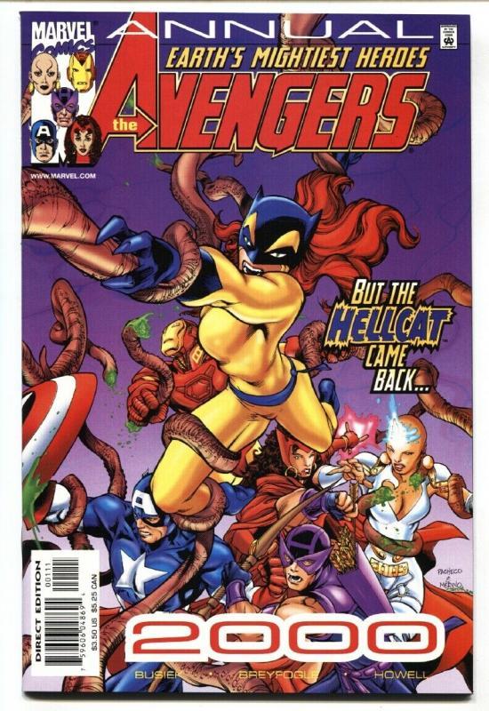 Avengers Annual 2000-Hellcat-Patsy Walker-comic book