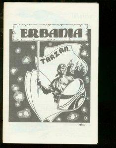 ERBANIA FANZINE #15-9/1964-EDGAR RICE BURROUGHS-TARZAN- VF