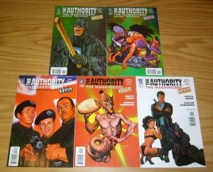 the Authority: the Magnificent Kevin #1-5 VF/NM complete series - garth ennis